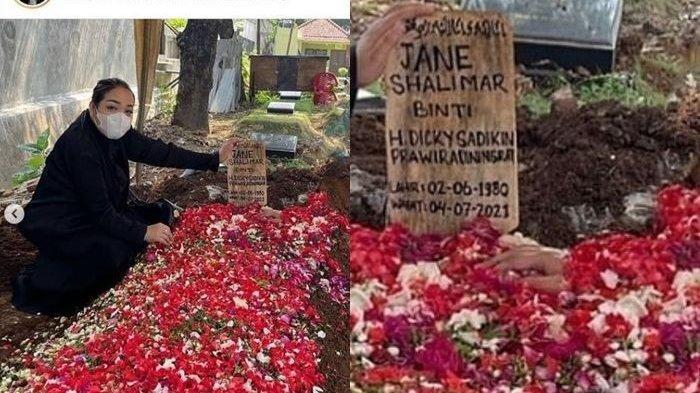 viral penampakan tangan di makam Jane Shalimar
