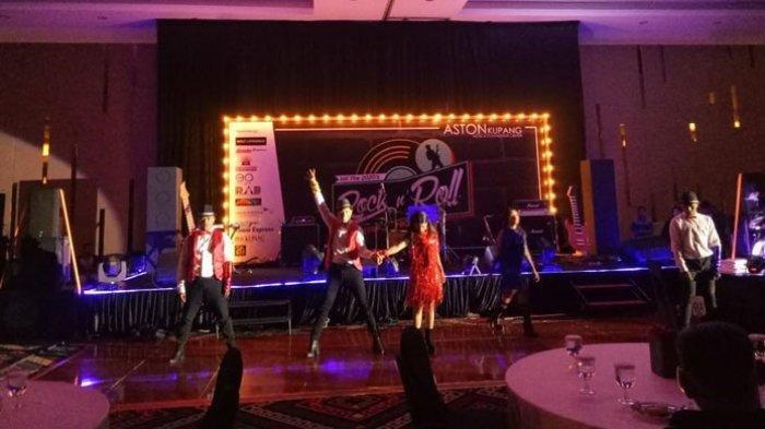 Nuansa Hitam Rock n Roll Ramaikan Palacio Ballroom Aston Hotel Kupang