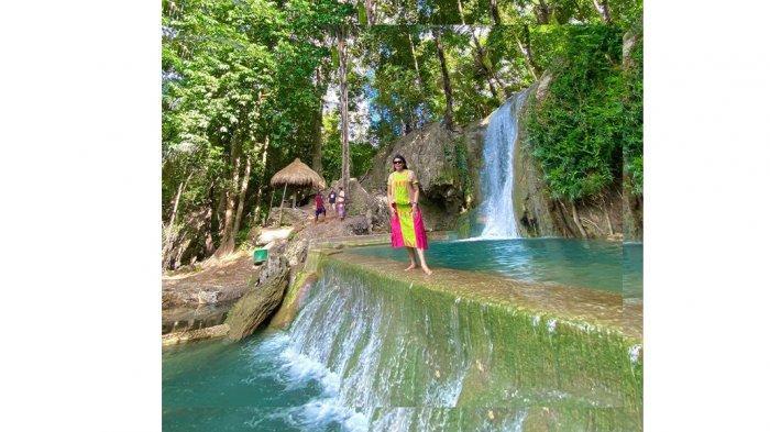 Wisata Baru Air Terjun Hono di Desa Sillu, Airnya Menyegarkan Tubuh