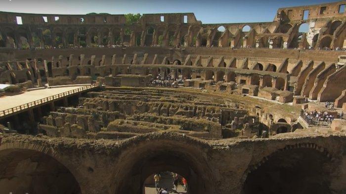 Colosseum atau Koleseum Bangunan Megah Arena Gladiator