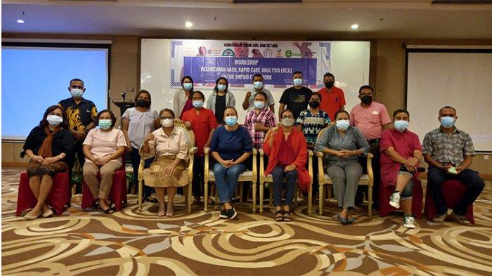 Workshop Hasil RCA untuk Unpaid Care Work atau Pekerjaan Perawatan Tak Berbayar
