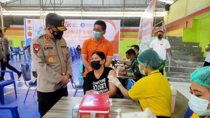 REI dan OJK Fasilitasi 12.000 Vaksin Covid19 Bagi Warga Kota Kupang