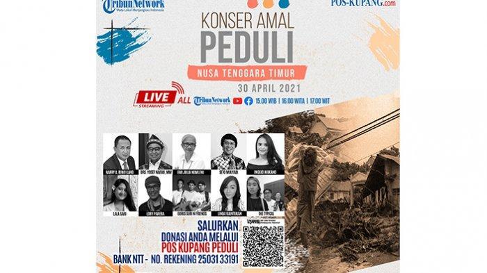 Nonton Puluhan Talent Sambil Berdonasi di Konser Amal Peduli NTT Pos Kupang