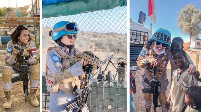 Wihelmina Manafe, Polwan Polda NTT Jadi Pasukan Taktis Satgas Garuda Bhayangkara 2 FPU 12 UNAMID