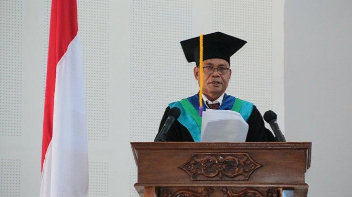 Prof. Yosep Seran Mau Jadi Guru Besar Ilmu Penyakit Tumbuhan,Begini Kata Rektor
