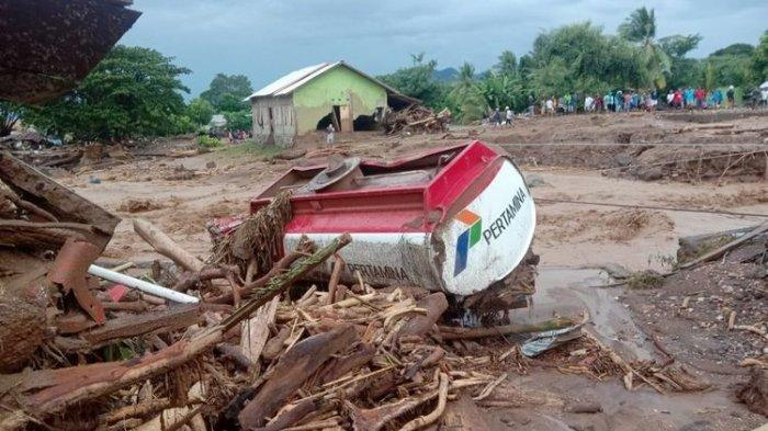 Bencana di NTT Banjir Bandang, Hujan Angin Bukan Bencana Nasional, Apa Alasannya?