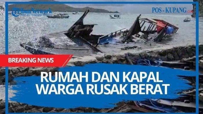Arti Siklon Tropis Seroja, Asal Penamaan, Dampak dan Penyebab Bencana di Provinsi NTT
