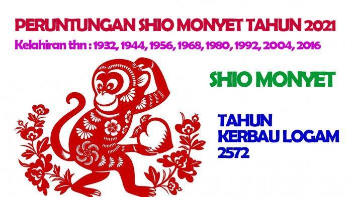 Ramalan Shio Monyet Tahun 2021 Tahun Kerbau Logam, Tergoda Selingkuh, Bisnis Lancar