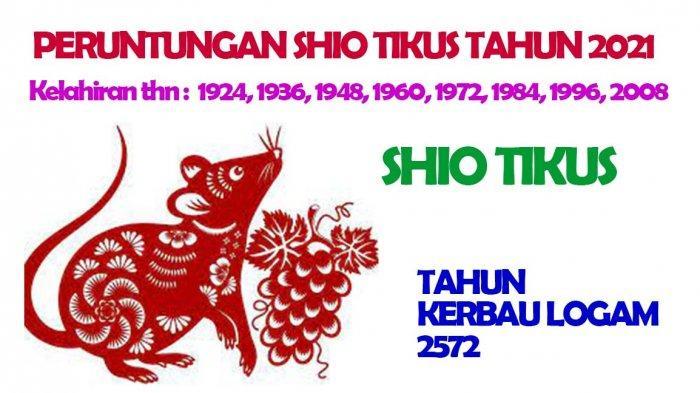 Ramalan Shio Tikus Tahun Kerbau Logam 2572, Punya Cinta Baru, Bisnis Maju