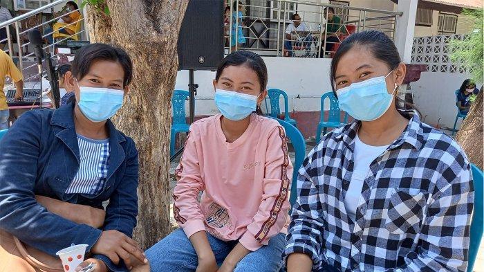 Vaksinasi Covid-19 Tahap 2 di Rujab Ketua DPRD NTT Masyarakat Dapat Pelayanan Ekstra Ekslusif