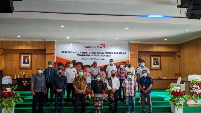 Wahana Visi Indonesia atau WVI Tutup Program di Kabupaten Sikka