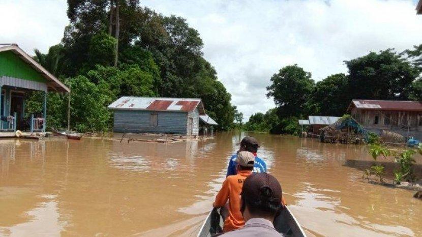 Sungai di Kalimantan Utara