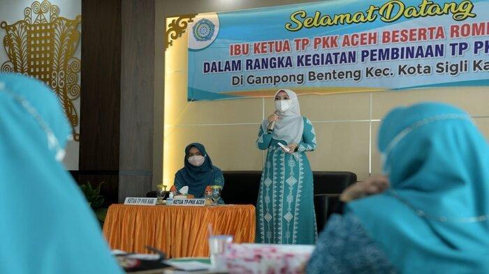 Ketua PKK Aceh Ajak Semua Kalangan Sukseskan Vaksinasi Covid-19