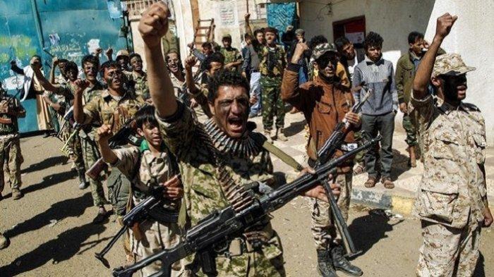 Serangan Udara Tewaskan Lebih dari 130 Pemberontak Houthi di Yaman
