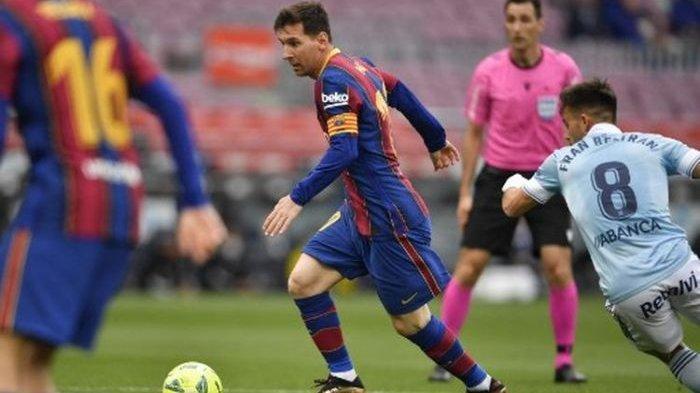 Kontrak Segera Habis, Messi Bertahan di Barcelona?