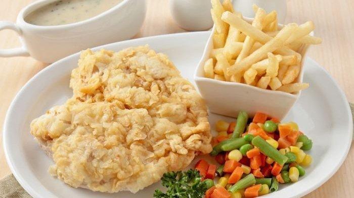 Ayam Krispi Ala Restaurant Mahal, Bisa Dibuat di Rumah, Ini Resepnya