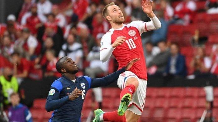 Reaksi Christian Eriksen Usai Denmark Lolos ke Semifinal Euro 2020