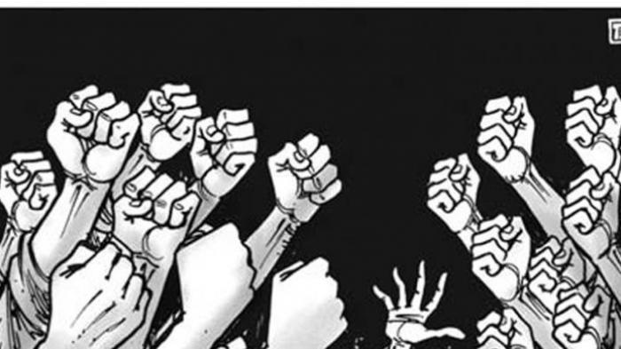 Aksi Protes Pemilik Apartemen The Reiz Condo Ricuh