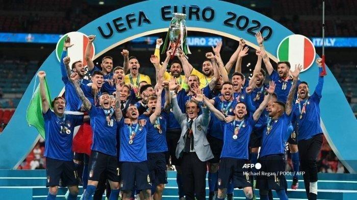 Setelah 53 Tahun, Italia Akhirnya Kembali Menjuarai Kompetisi Mayor di Euro 2021