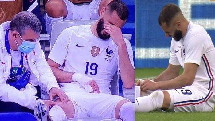 Petaka Bagi Timnas Prancis, Karim Benzema Cedera Lawan Bulgaria Jelang Laga Pembuka Euro 2020