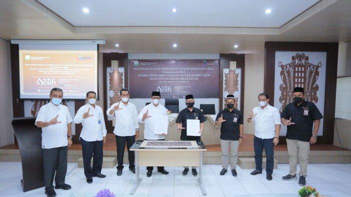 Dinas Perpustakaan dan Kearsipan Aceh Jalin Kerjasama dengan Puslatbang Khan LAN RI