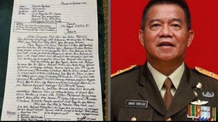 Dicopot dari Jabatan Gegara Tulis Surat Terbuka, Brigjen Junior Tidak Menyesal