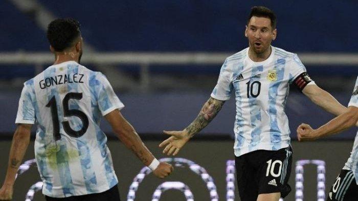 Gol Tembakan Bebas Messi PemecahRekor Batistuta