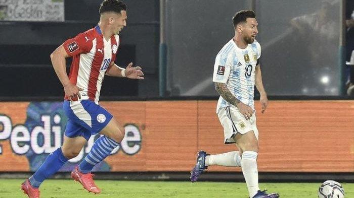 Debut Messi Tertahan Kiper Lawan