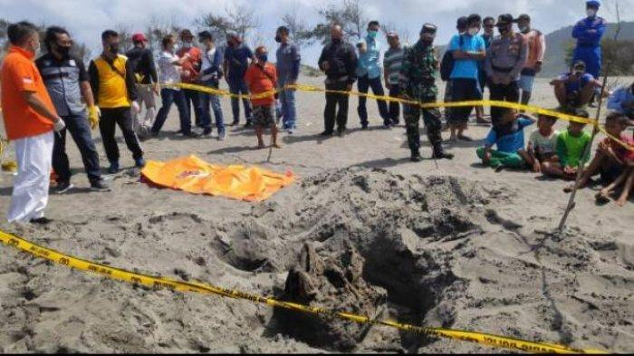 Heboh! Ditemukan Kerangka Manusia Di Pantai Parangkusumo Bantul