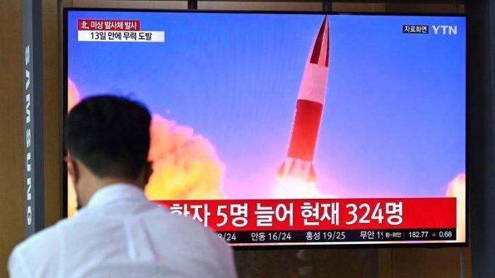 Rudal Balistik yang Ditembakkan Korea Utara Jatuh ke Laut