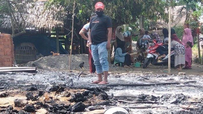 Pria di Aceh Utara Bakar Rumahnya Sendiri, Diduga akibat Gangguan Jiwanya Kumat