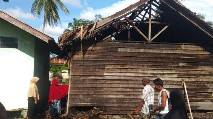 Rumah Warga Peusangan Terbakar