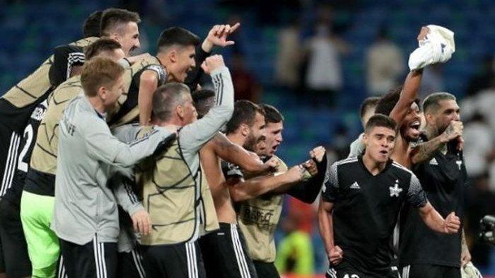 Sheriff Tiraspol Ukir Sejarah dan Tampil Cemerlang di Liga Champions