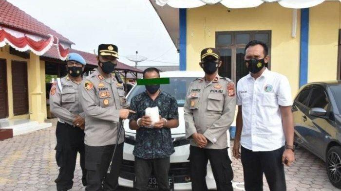 Polres Aceh Timur Tangkap Pria yang Bawa 1 Kg Sabu