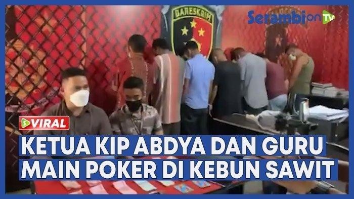 Dipergoki Main Judi, Ketua KIP Abdya akan Dilapor Panwaslih ke DKPP
