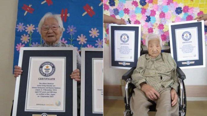 Kembar Identik Tertua di Dunia Berada di Jepang