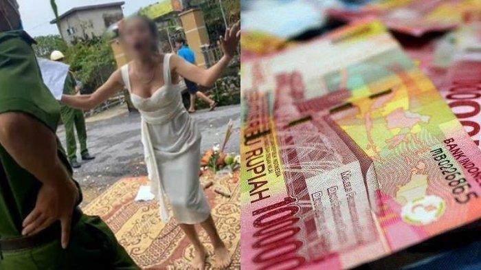 Kesal Utang tak Dibayar, Wanita Ini Nekat Bakar Sesajen di Depan Rumah Pengutang