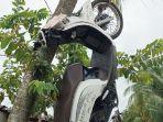 Sepeda-motor-sepmor-milik-pelaku-narkoba-digantung-warga.jpg