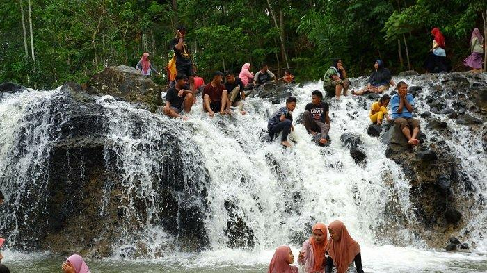 Keindahan Tersembunyi Wisata Alam Air Terjun Rayap di Aceh Utara