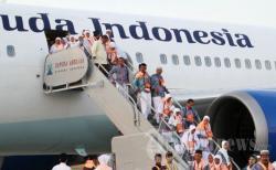 Take Off Membeludak, Jemaah Haji Tertahan 3 Jam di Pesawat