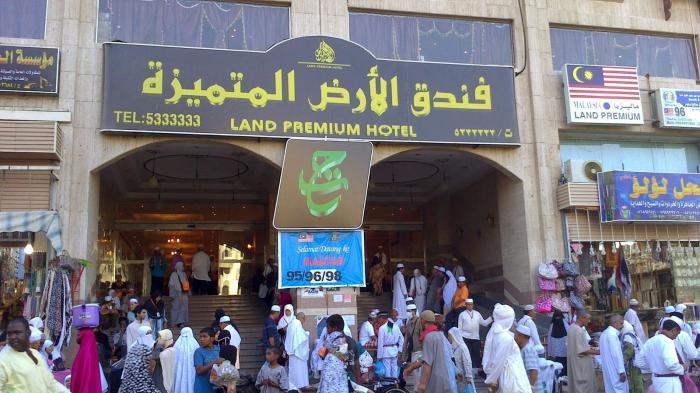 77 Ribu Jemaah Haji di Dalam Markaziah