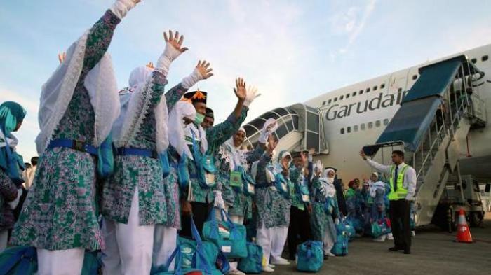 Jamaah Kloter Padang 01 ke Jeddah
