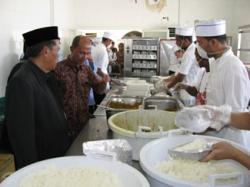 Dapur Katering Haji Disidak Tiap Hari