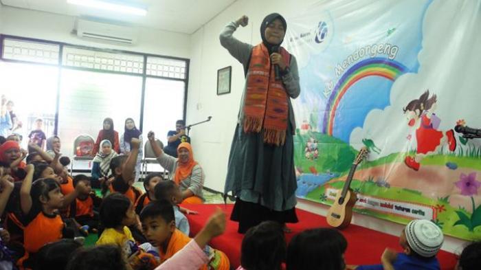 Di KG Mendongeng, Anak-anak Dilatih Berimajinasi