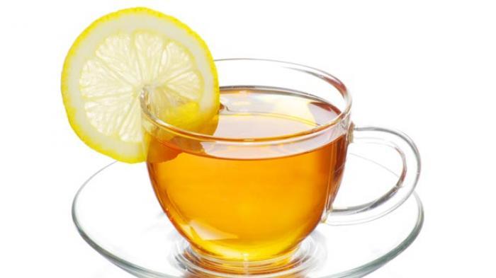 Lemon Tea, Si Penurun Berat Badan