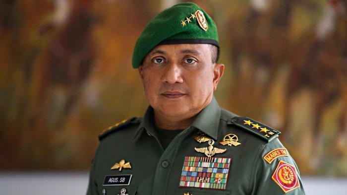 Jabatan Baru Letjen TNI Agus Surya Bakti