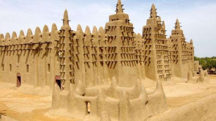 Uniknya Bangunan Masjid Agung Djenne
