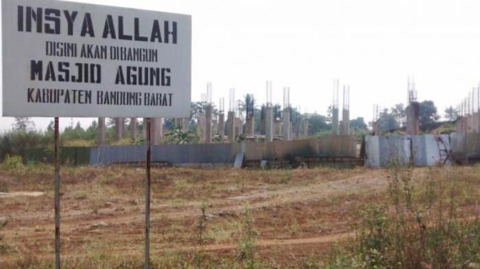 Pembangunan Masjid Agung Bandung Barat Butuh Biaya Rp 32 M