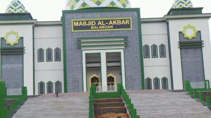 2015, Masjid Raya Balangan Akan Rampung