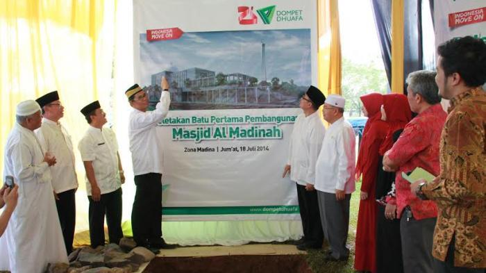 Dompet Dhuafa Bangun Masjid Rp 13 M